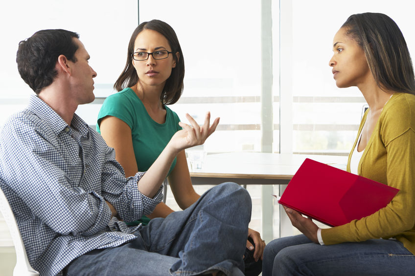 24488326 - couple having relationship counselling